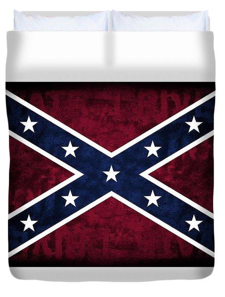 Rebel Flag Duvet Cover