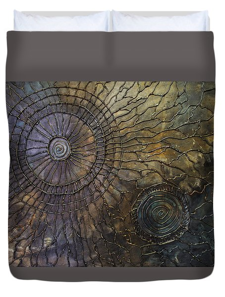Rebirth Duvet Cover by Patricia Lintner