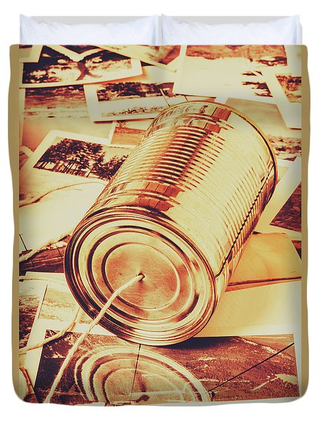 Recalling The Past Duvet Cover