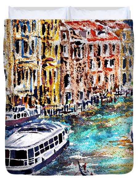 Recalling Venice 01 Duvet Cover