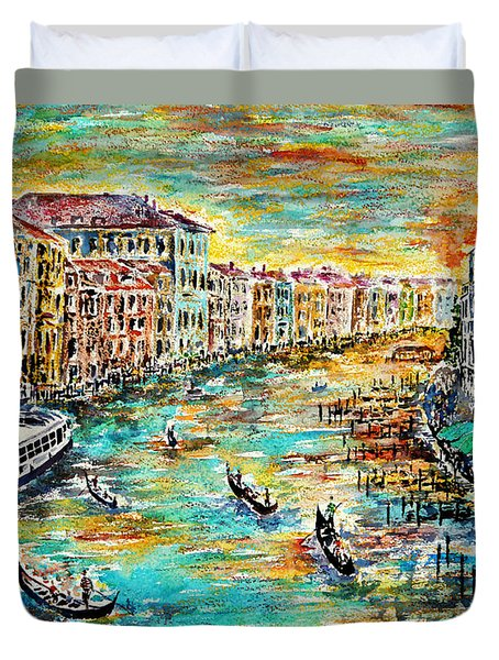 Recalling Venice Duvet Cover