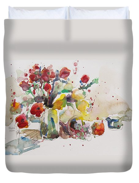 Reception Duvet Cover by Becky Kim