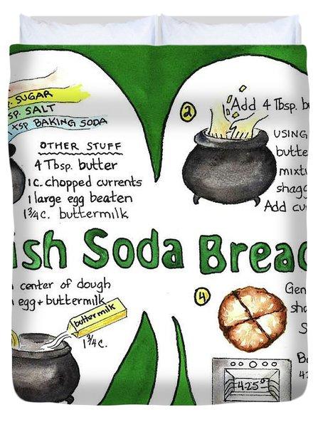 Recipe - Irish Soda Bread Duvet Cover