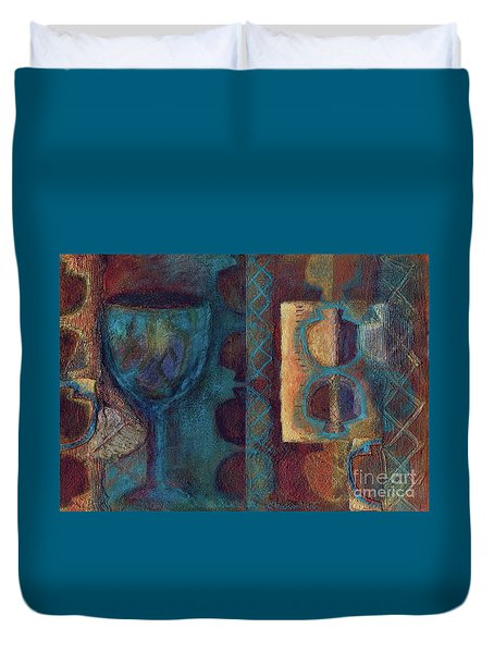 Reciprocation Duvet Cover