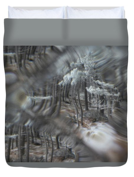 Recital For The Cold And The Eyes - Fourth Movement Duvet Cover