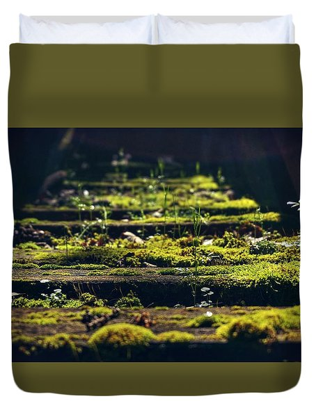 Reclaimed By Nature Duvet Cover