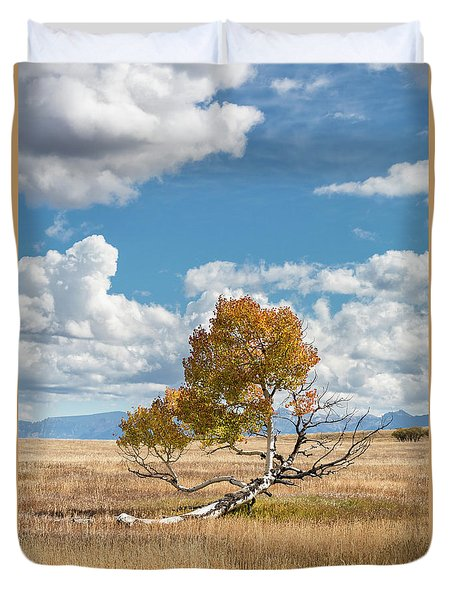 Reclining In The Sun Duvet Cover