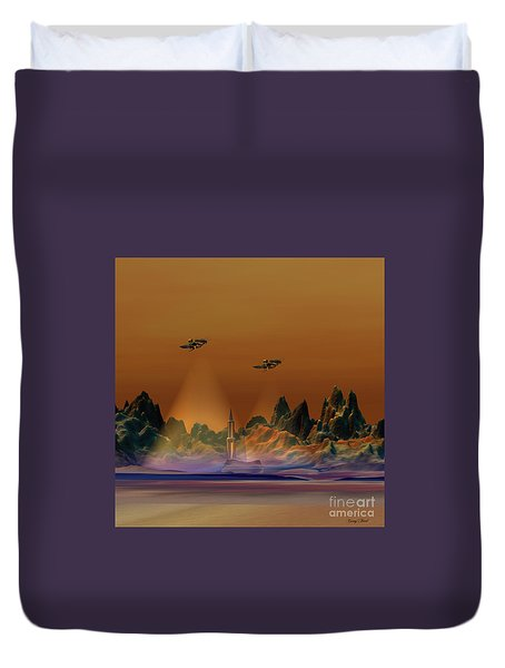 Recon Duvet Cover by Corey Ford