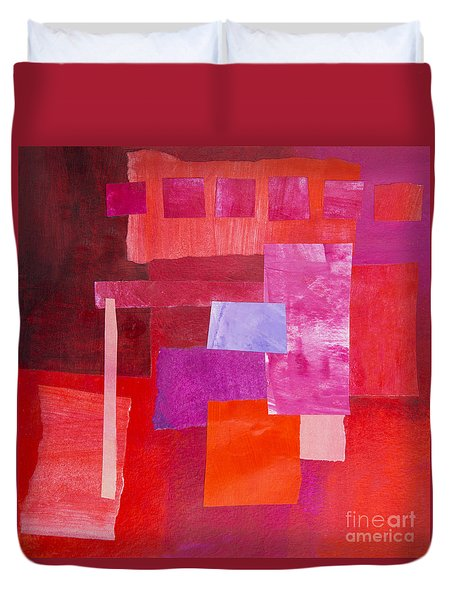 Red 2 Duvet Cover