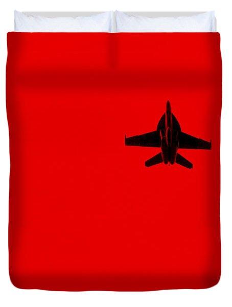 Red Alert Duvet Cover