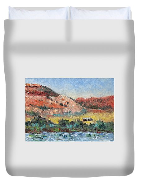 Red Butte Ranch Duvet Cover