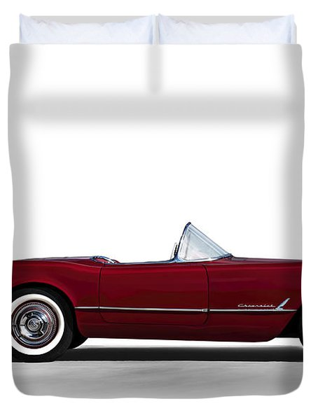 Red C1 Convertible Duvet Cover
