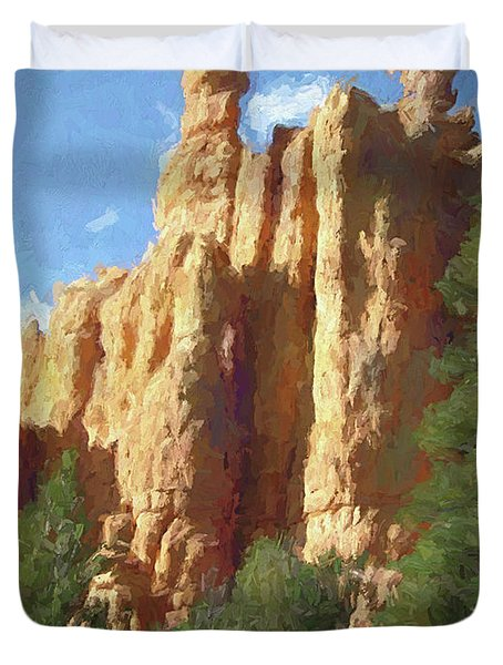 Red Canyon Twins Duvet Cover