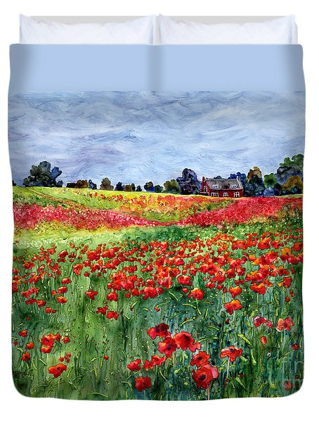 Red Carpet Duvet Cover