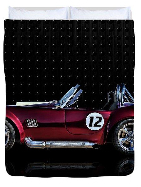 Red Cobra Duvet Cover by Douglas Pittman
