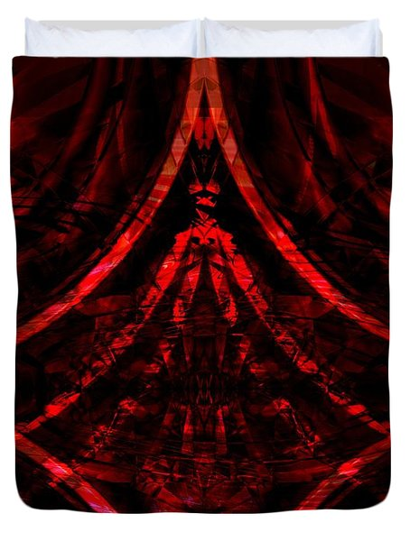 Red Competition Duvet Cover