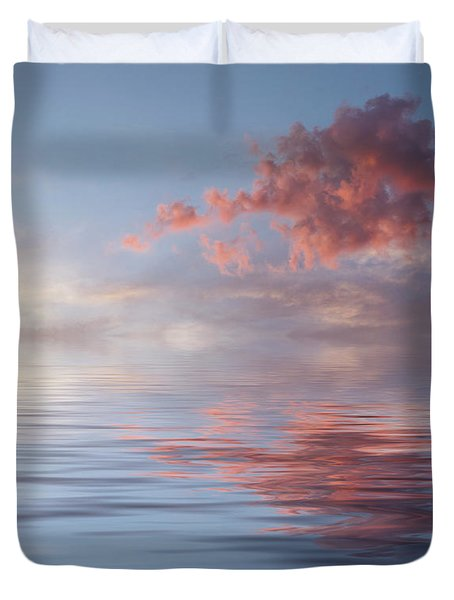 Red Emotion Duvet Cover by Jerry McElroy
