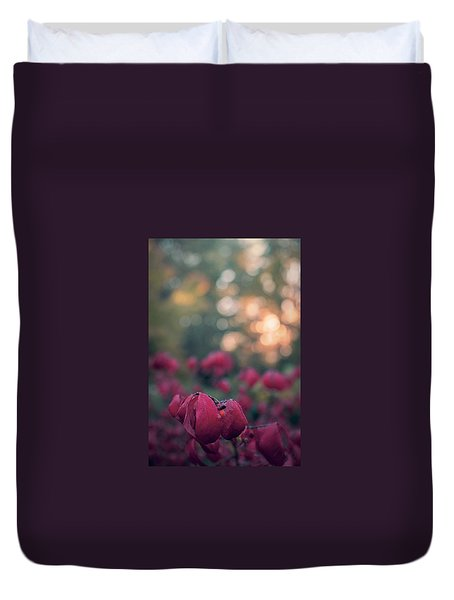 Burning Red II Duvet Cover