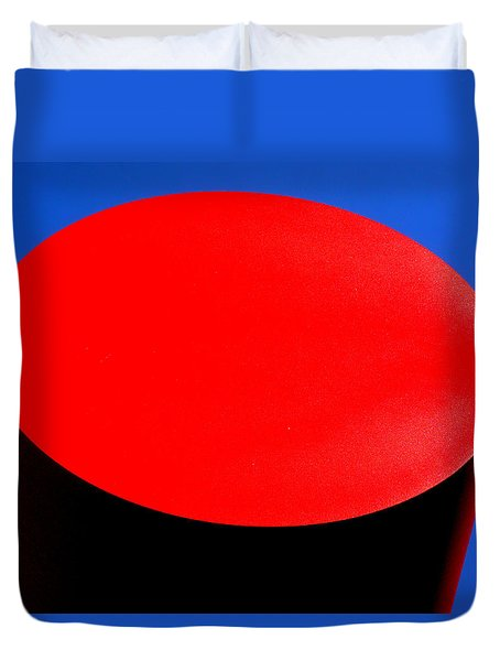 Red Circle 2016 Duvet Cover