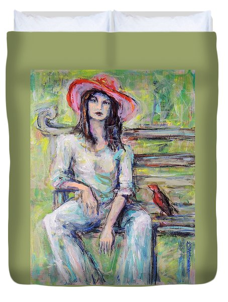 Red Hat Duvet Cover