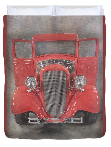 Red Hot Baby Duvet Cover