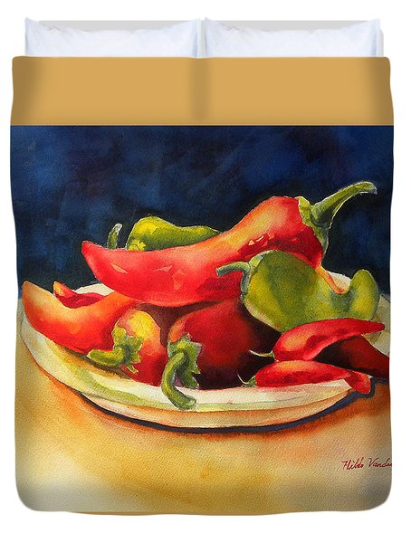 Red Hot Chile Peppers Duvet Cover