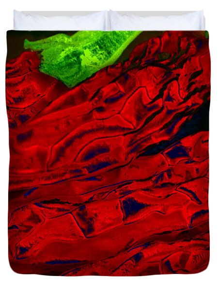 Red Hot Chili 2 Duvet Cover