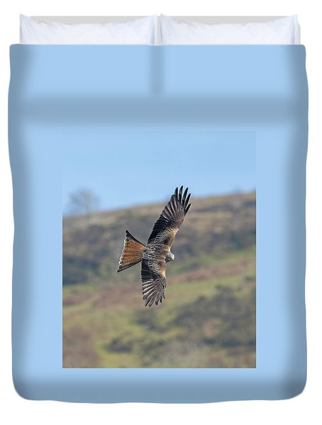 Red Kite Duvet Cover