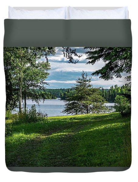Red Lake Ontario 2 Duvet Cover