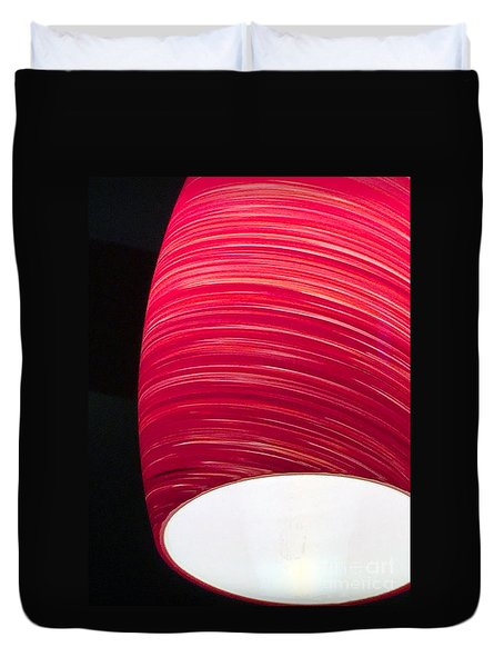 Red Light Cafe Duvet Cover