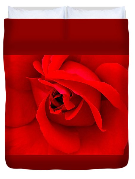 Red Duvet Cover