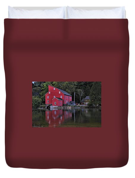 Red Mill Duvet Cover