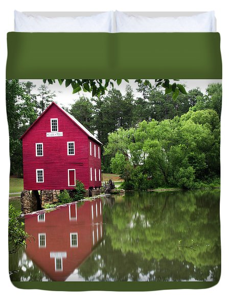 Red Mill Duvet Cover