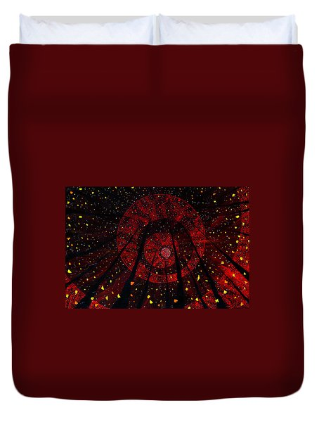 Red October Duvet Cover