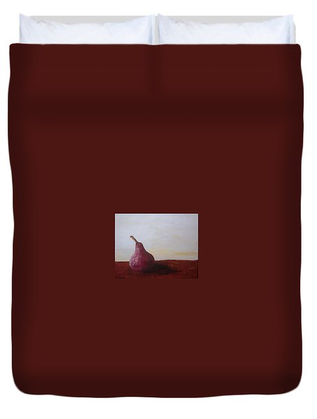 Red Pear Duvet Cover