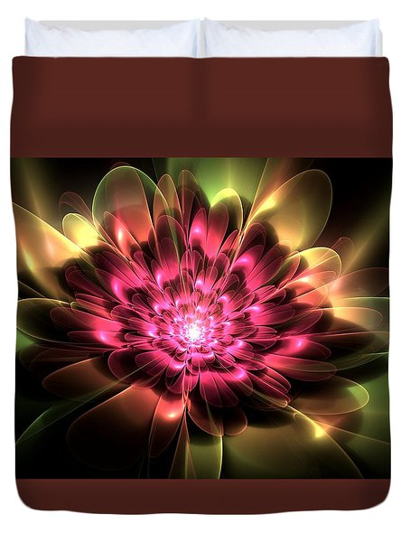 Red Peony Duvet Cover by Svetlana Nikolova