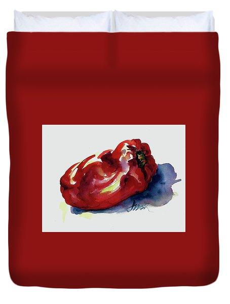 Red Pepper Duvet Cover