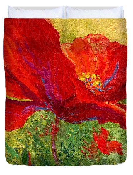 Red Poppy I Duvet Cover