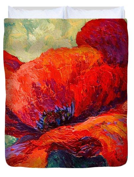 Red Poppy IIi Duvet Cover