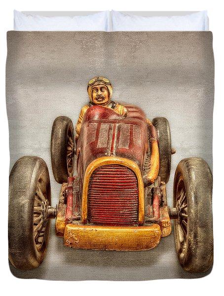 Red Racer Front Duvet Cover