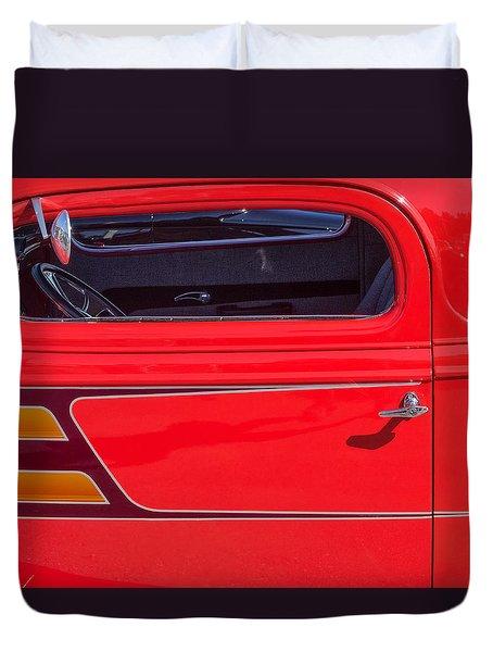 Red Racer Duvet Cover