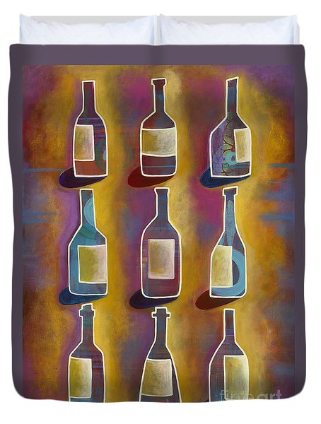 Red Red Wine Duvet Cover by Carla Bank