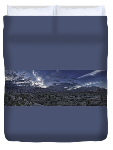 Red Rock Canyon State Park Duvet Cover