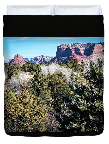 Red Rock Country Duvet Cover