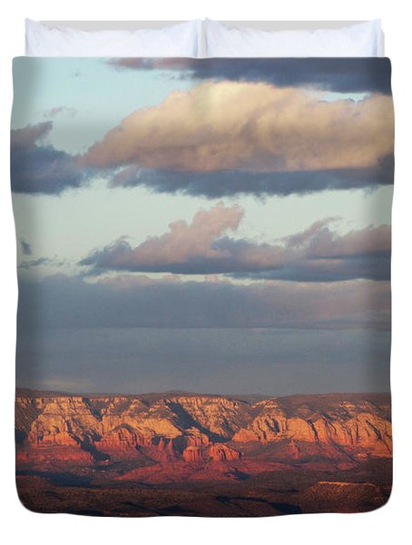Red Rock Crossing, Sedona Duvet Cover