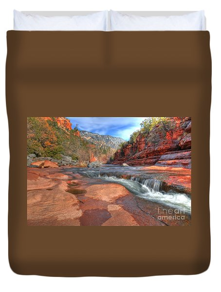 Red Rock Sedona Duvet Cover