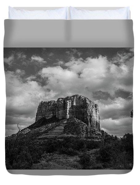 Red Rocks Sedona Bnw 1 Duvet Cover by David Haskett