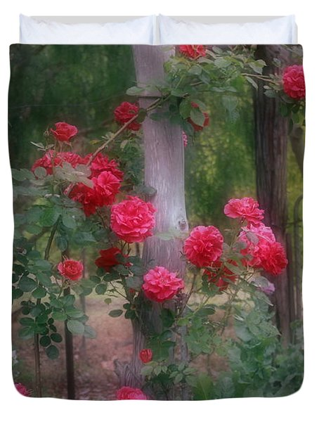Red Rose Dream Duvet Cover