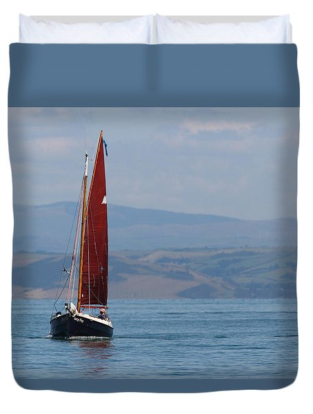 Red Sail Duvet Cover