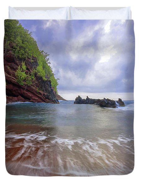 Red Sand Duvet Cover